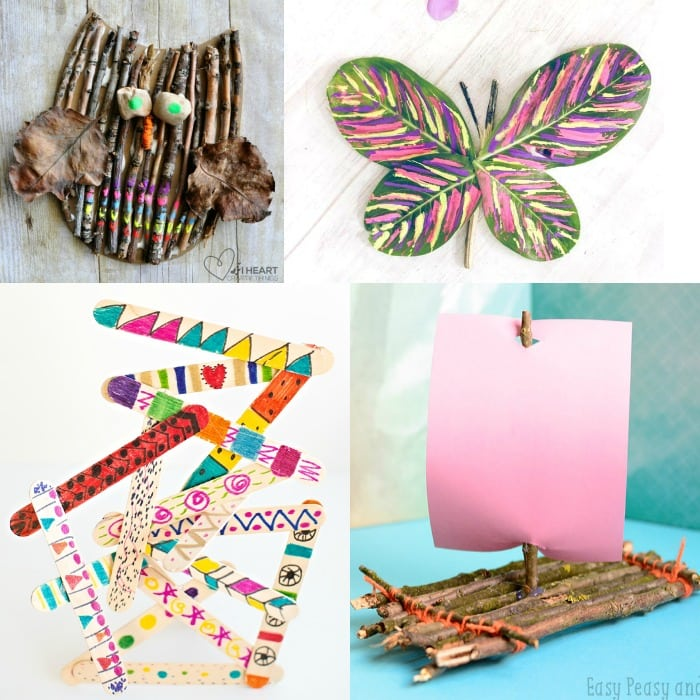 Creative Crafts With Sticks And Twigs Easy Peasy And Fun