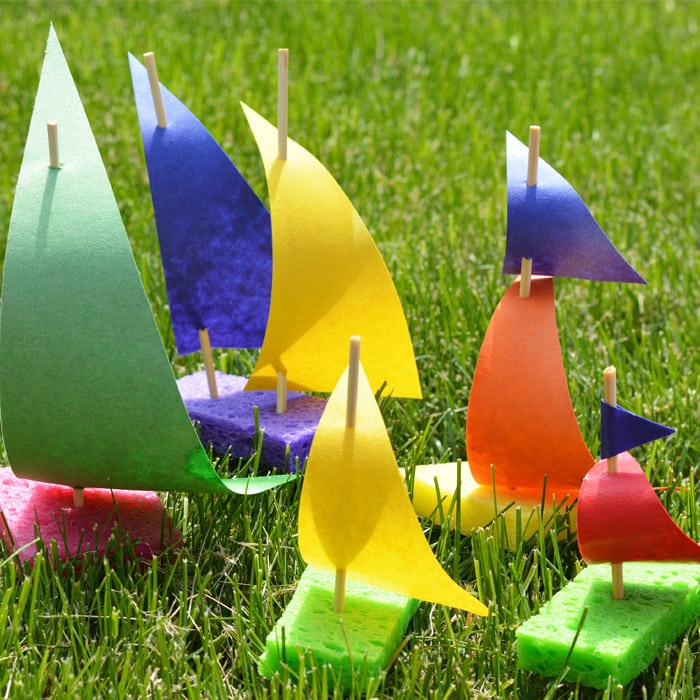 Sailboat craft for little ones