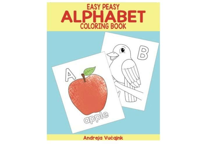 alphabet coloring book - Alphabet Coloring Pages