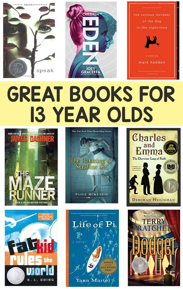 books for 13 year olds books for 13 year olds boys and easy peasy and 5959