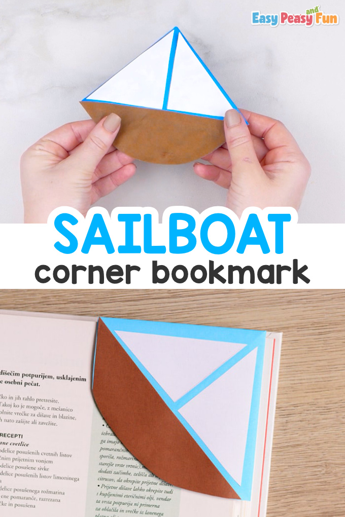 How to Make a Sailboat Corner Bookmark