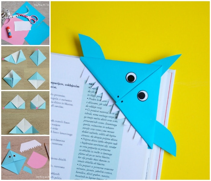 Image result for Origami Paper Bookmark DIY Bookmark Ideas that are easy to craft (Step by Step)