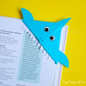 Shark Corner Bookmark