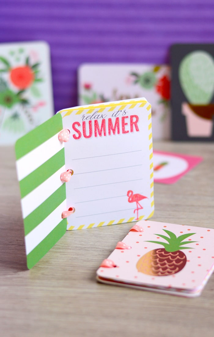 DIY Summer Memory Book