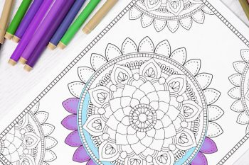 Mandala Coloring Page – Coloring for Adults