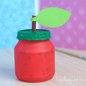 Apple Jar Craft for Kids