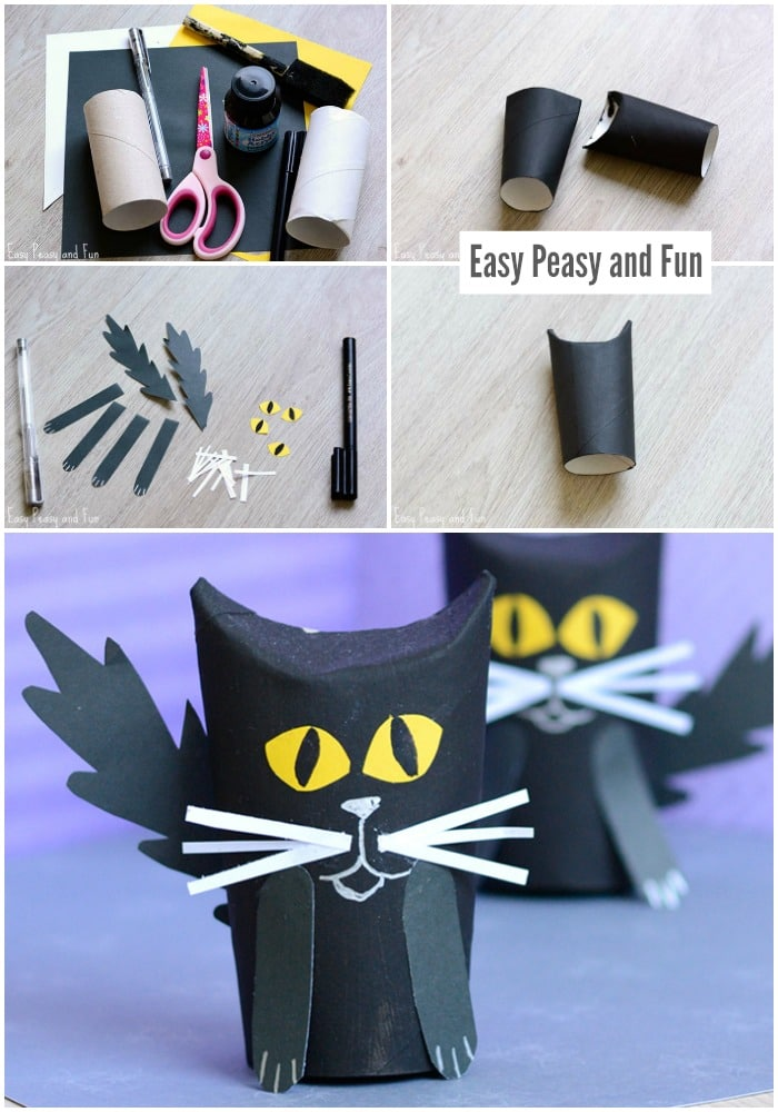 Cute Toilet Paper Roll Craft for Kids