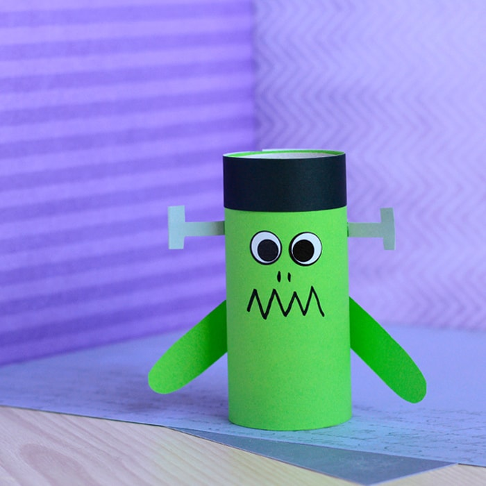 Paper Roll Frankenstein Craft