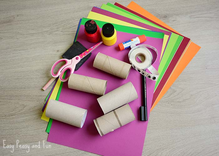 Paper roll crab craft easy peasy and fun for Where to buy contact paper for crafts