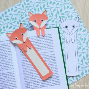 Free Printable Fox Bookmarks