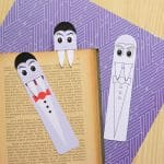 Free Printable Vampire Bookmarks