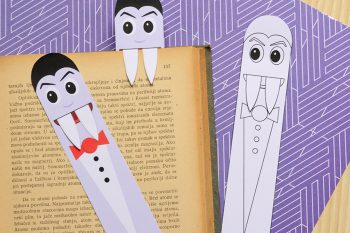 Printable Vampire Bookmarks – DIY Bookmarks