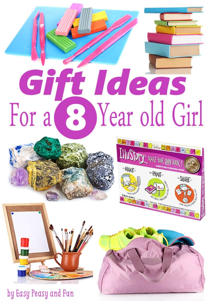 Gifts for 8 Year Old Girls - Birthdays and Christmas - Easy Peasy ...