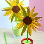 Sunflower Leaf Craft
