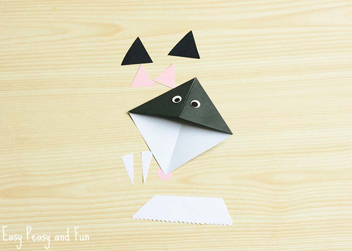 diy bat corner bookmarks cat corner bookmarks origami for easy 4226