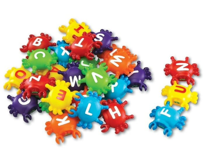 Alphabet Crabs Learning Toy