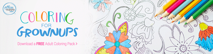 Coloring Pages Office Supply