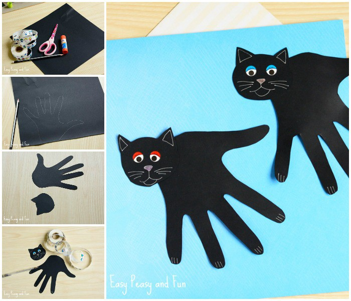 Cat Kids Easy Craft