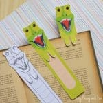 Free Printable T-Rex Bookmark