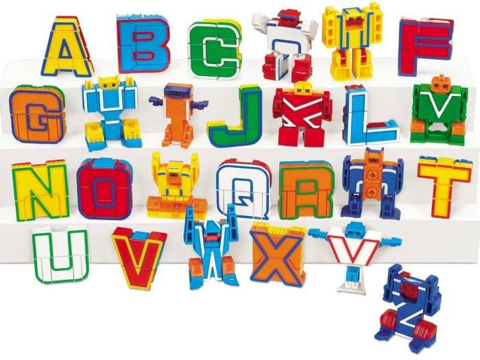 Fun Alphabet Learning Toy Alpha-Bots