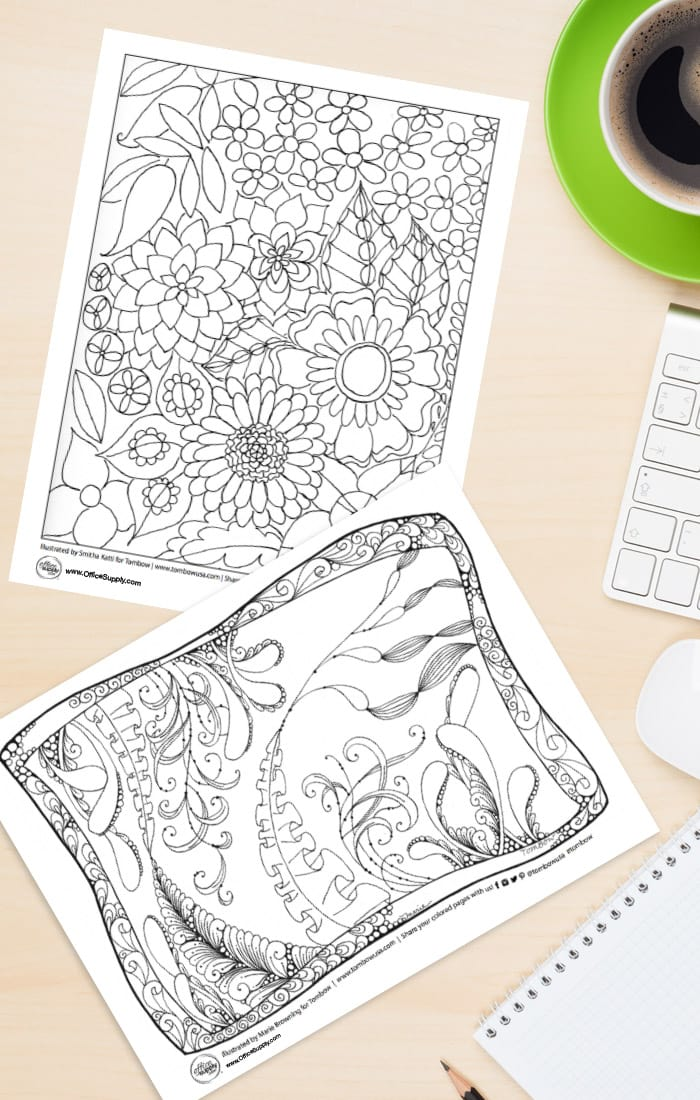 Gorgeous Free Coloring Pages for Adults