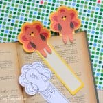 Printable Turkey Bookmarks