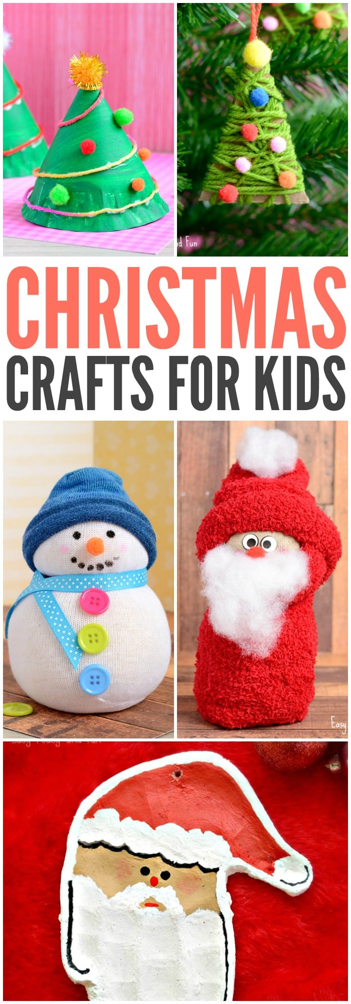 Christmas crafts for kids to make easy peasy and fun for Christmas crafts to do