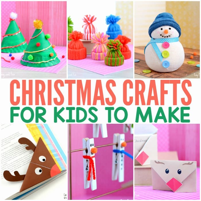 Christmas Crafts For Kids.Christmas Crafts For Kids To Make Easy Peasy And Fun