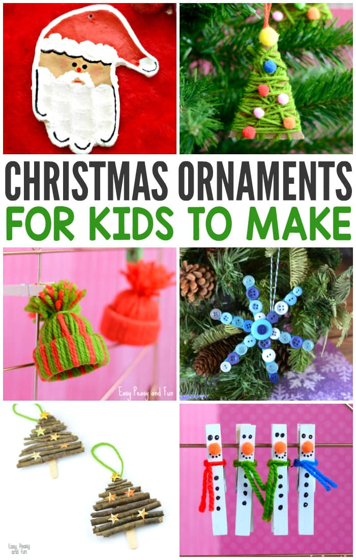 christmas crafts for kids ornaments for to make easy peasy and 29755