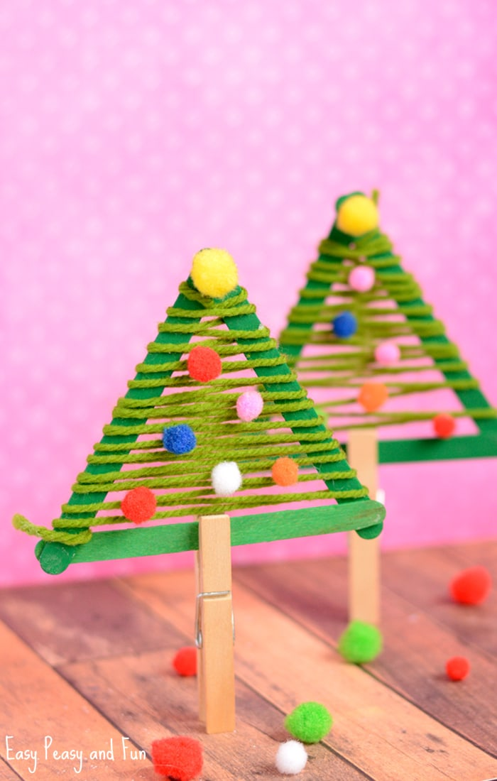 Craft Sticks Christmas Tree