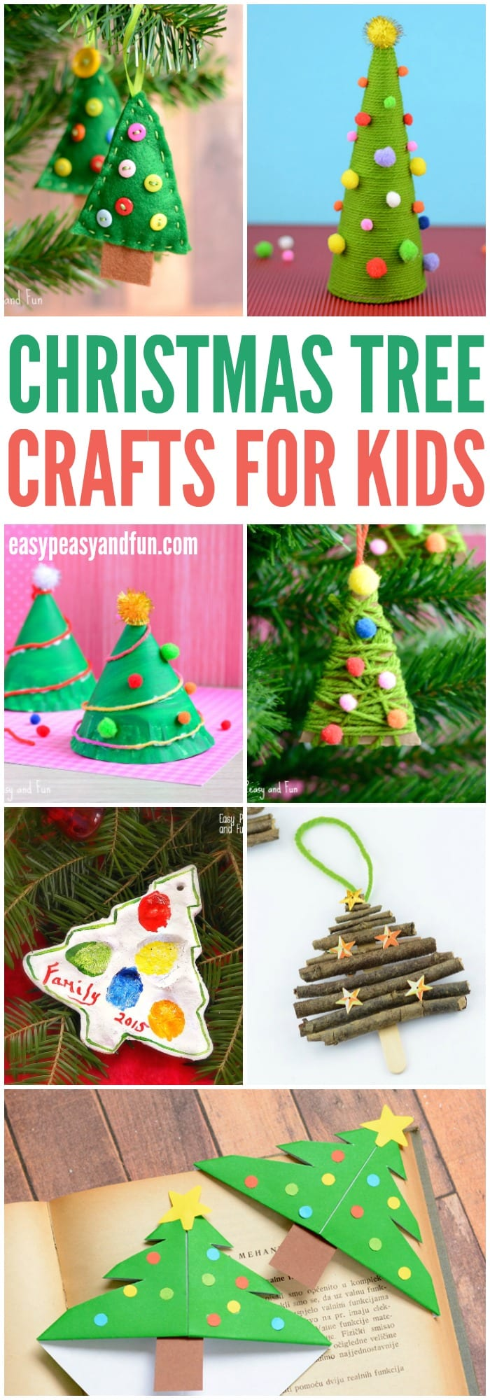 Christmas tree crafts for kids easy peasy and fun for Free christmas crafts for kids