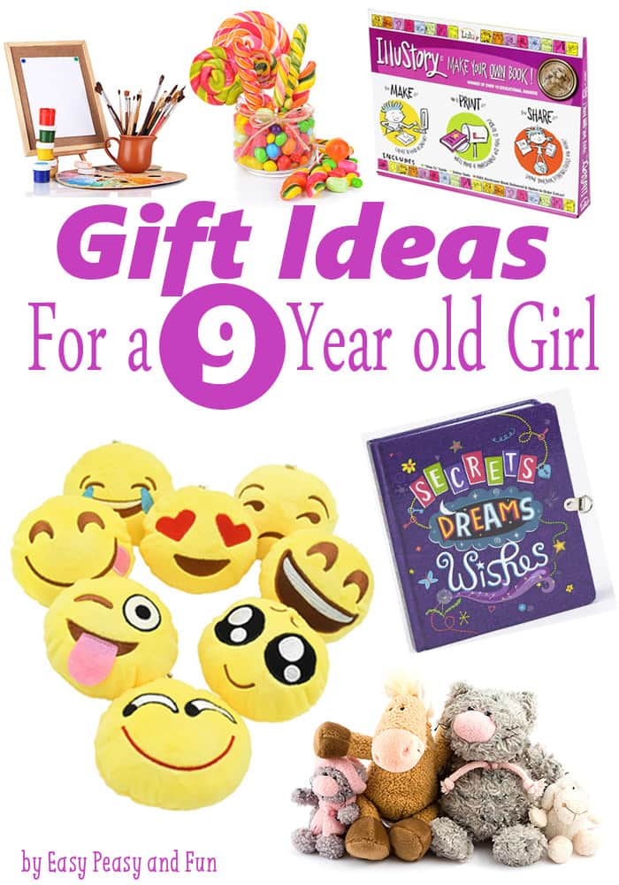 Christmas gift ideas for 9 year old niece