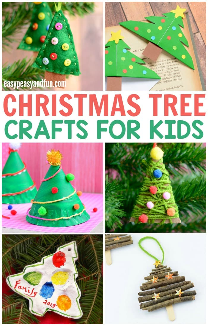 Lovely Christmas Tree Crafts for Kids
