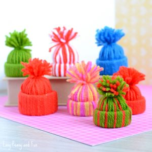 Mini Yarn Hats