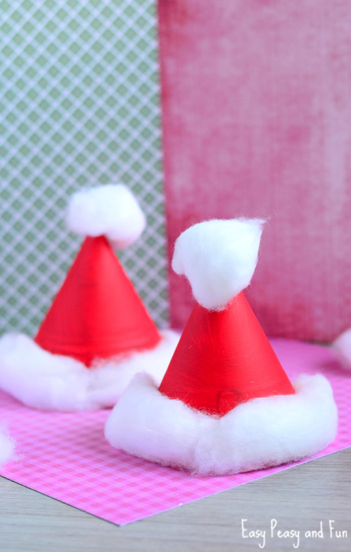 how to make a cone out of paper plate