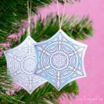 Printable Christmas Ornaments to Color