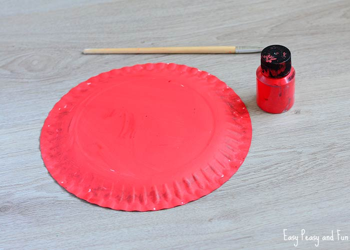 Paper Plate Santa Hats Craft Christmas Crafts For Kids Easy