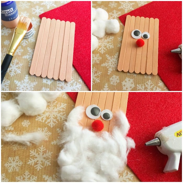 craft sticks santa craft craft sticks santa craft crafts for 4063
