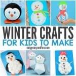 Cute Winter Crafts for Kids to Make
