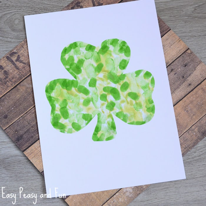 Fingerprint Shamrock Craft