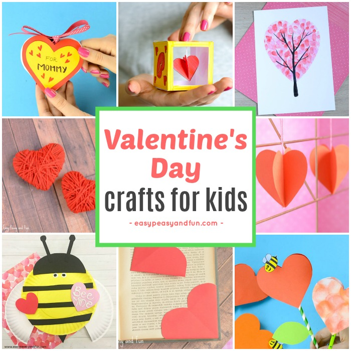 Valentines day crafts for kids art and craft ideas for for Kids valentines day craft
