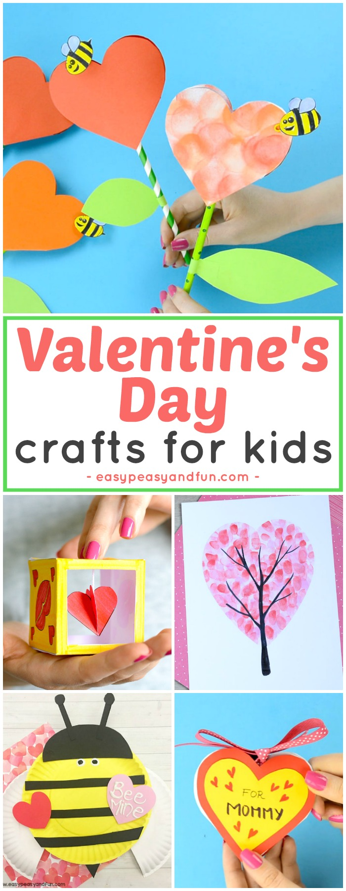 Valentines day crafts for kids art and craft ideas for for Fun crafts for all ages