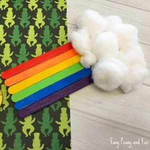 Craft Sticks Rainbow Craft