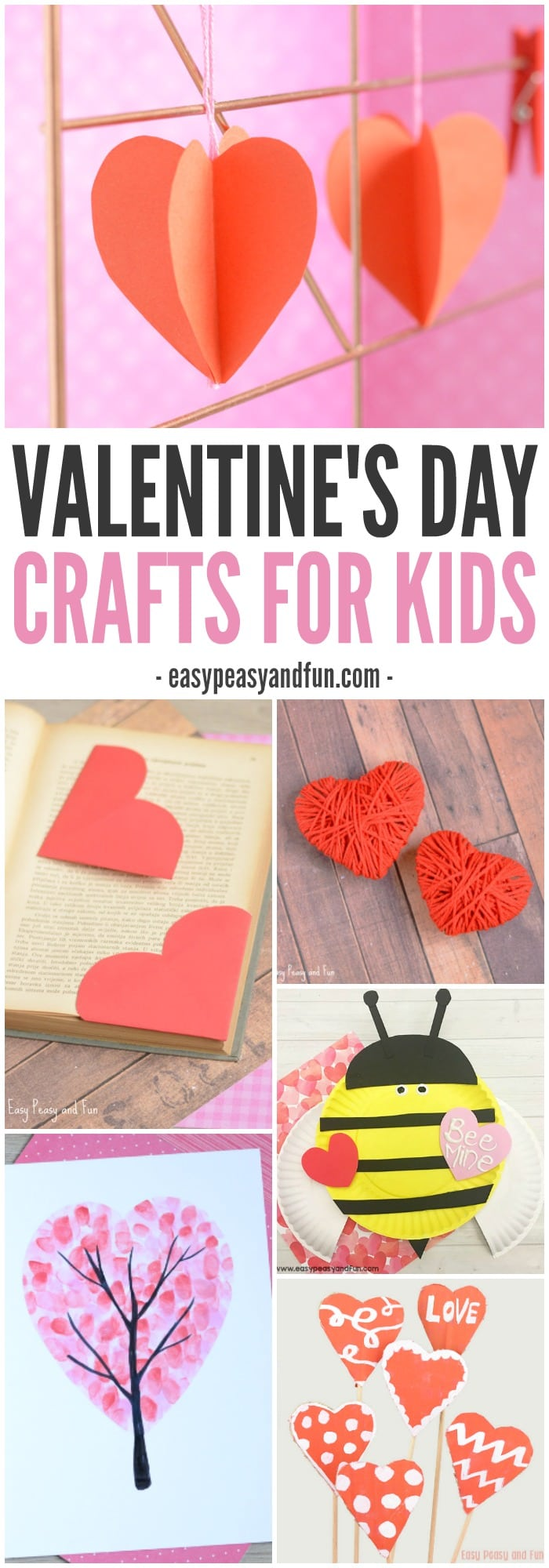 Simple Valentines Day Crafts for Kids