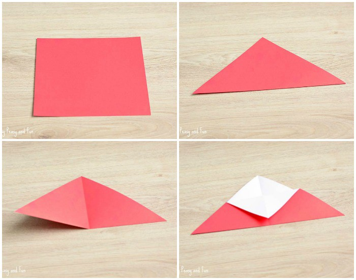 Heart Bookmarks , Easy Paper heart From post-it note - YouTube | 550x700