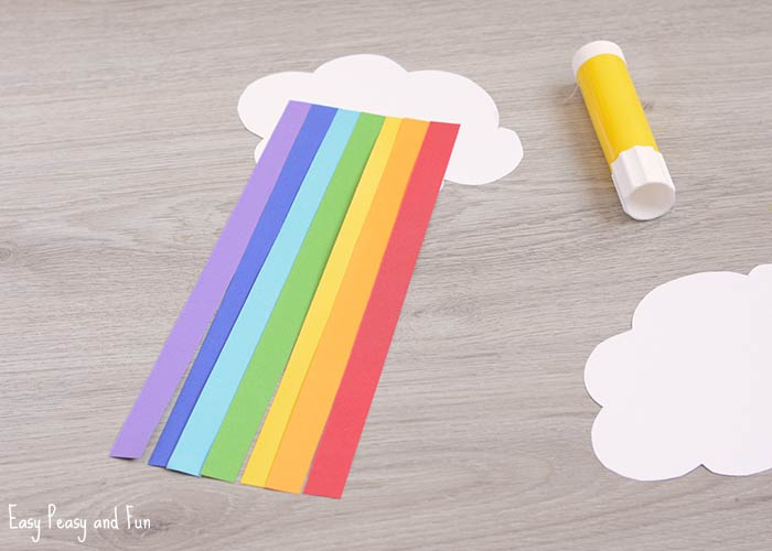 Cute Paper Rainbow Kid Craft Easy Peasy And Fun