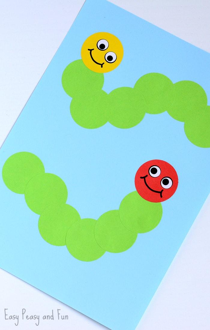 Adorable Caterpillar Craft