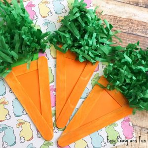 Carrot Craft – Easter Craft Idea for Kids