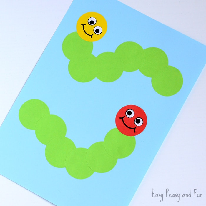 Cute Caterpillar Craft
