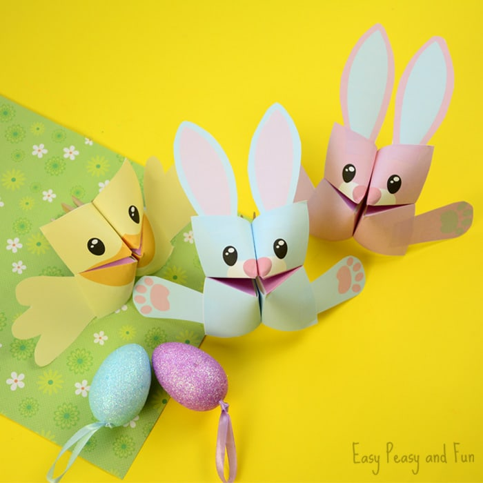 photo relating to Printable Easter Decorations named 25+ Easter Crafts for Small children - A good deal of Cunning Recommendations - Basic